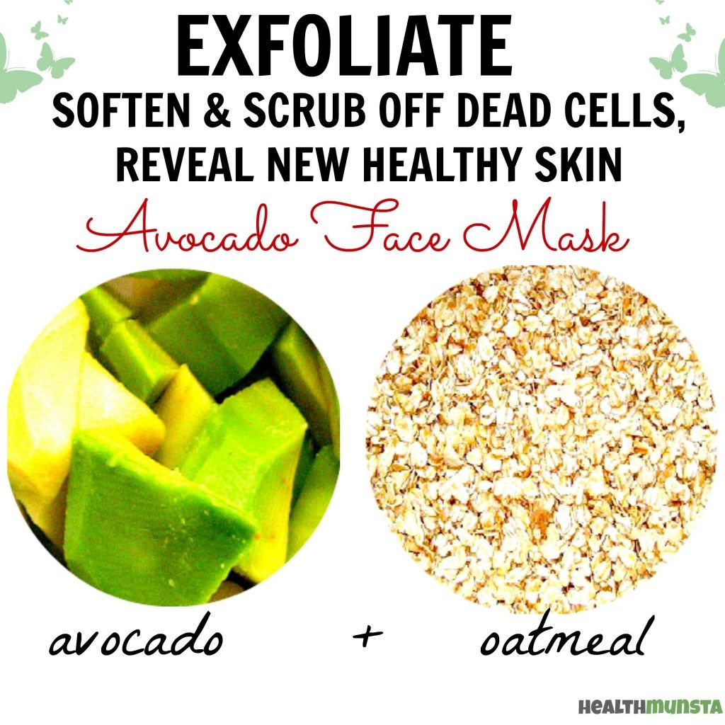 3 All Natural Diy Face Masks: Homemade Beauty: Amazing Avocado Face Mask Recipes
