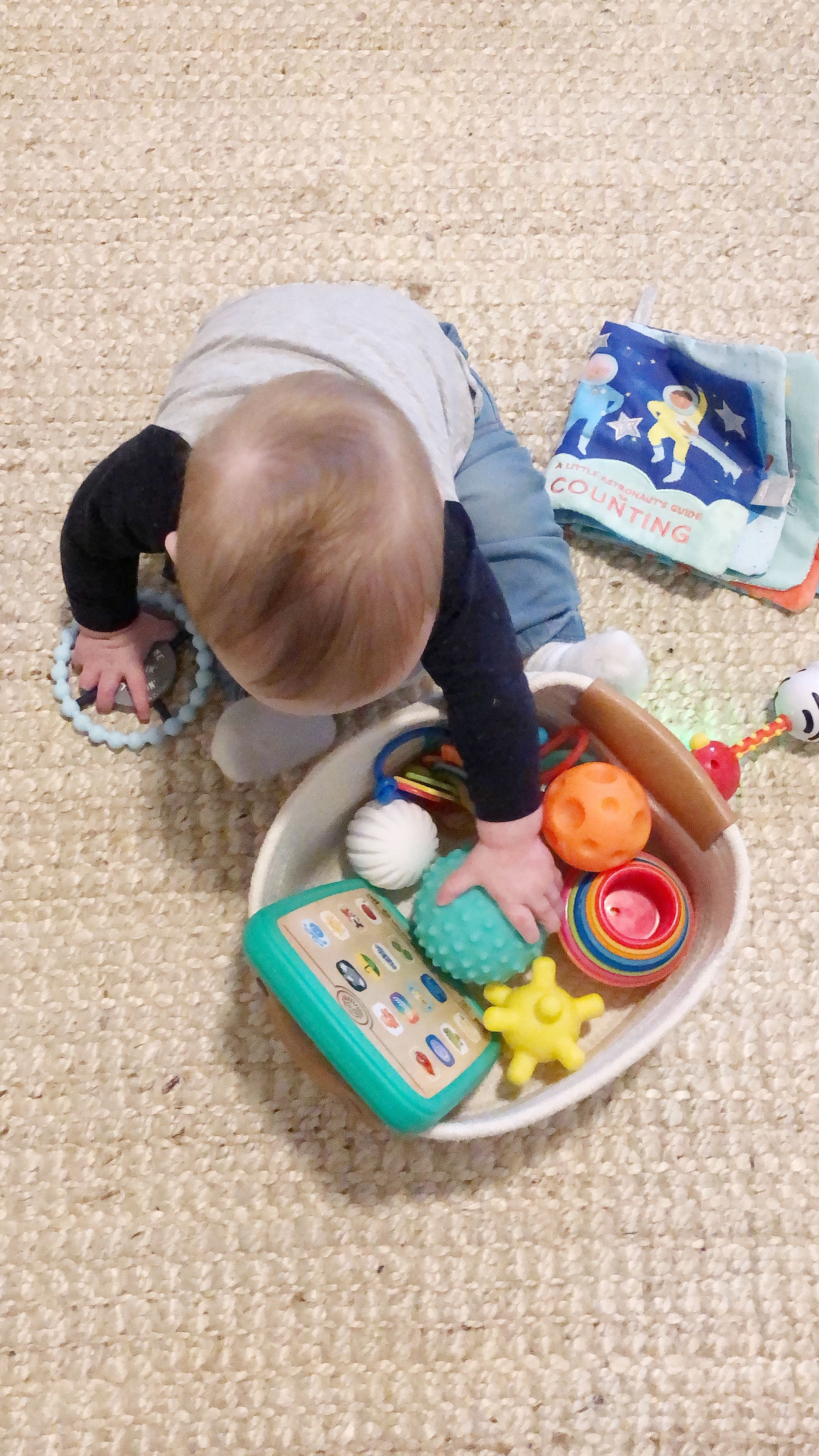 Baby toys from 6 months - 12 months old! in 2020   Baby ...