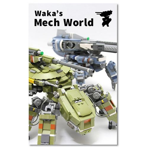 He has an ebook about his mecha! Clicking order…clicking order... www.amazon.com/dp/B00JBFGDP6/  (NOTE: as of right now, it only works on certain Kindle readers on tablets, not desktops).