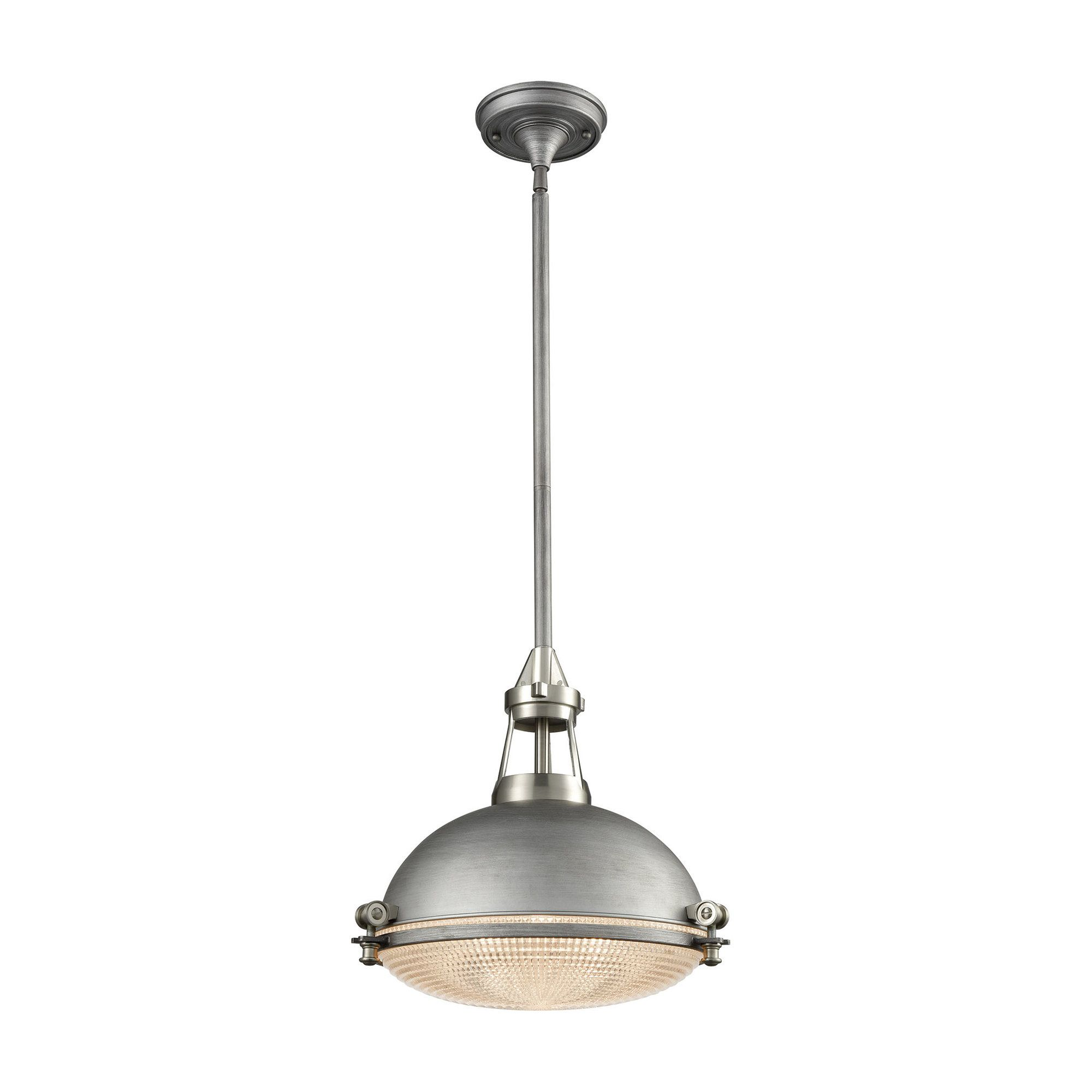 Byron 1 Light Inverted Pendant