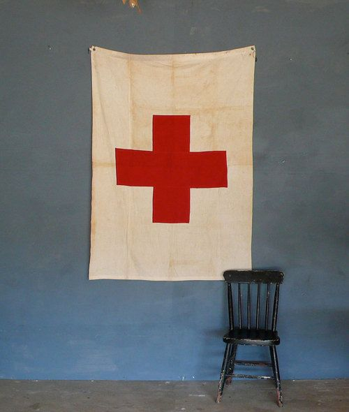 Domestic Rebus Red Cross Cross Flag American Red Cross