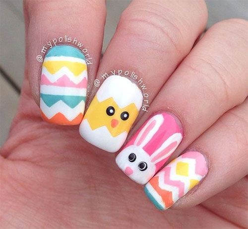 i have a collection of easter nail art designs ideas trends stickers of these nail art designs are as funky and refreshing as showing how the - Nail Art Designs Ideas