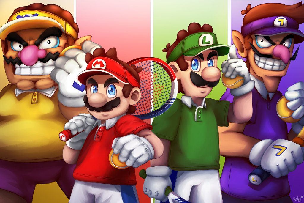Mario Tennis Aces By Lc Holy Deviantart Com On Deviantart
