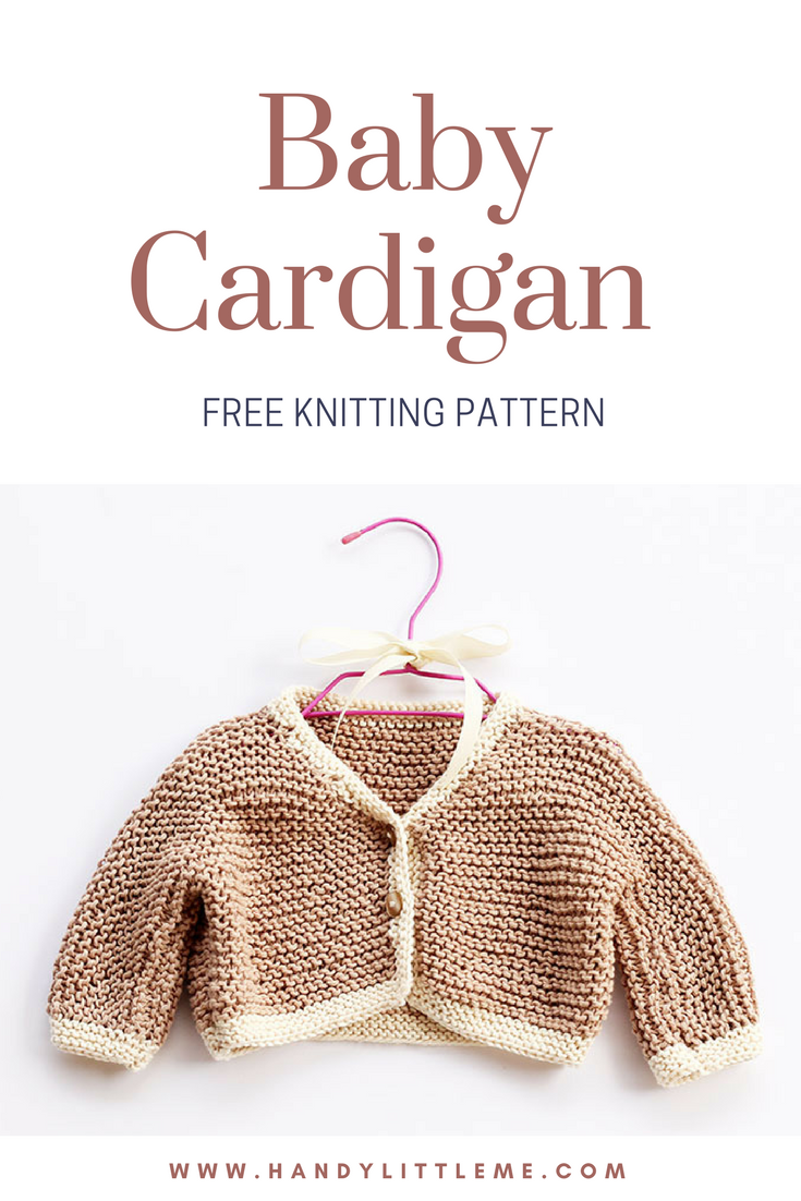 Chunky Baby Cardigan Knitting Pattern | Pinterest | Stricken häkeln ...