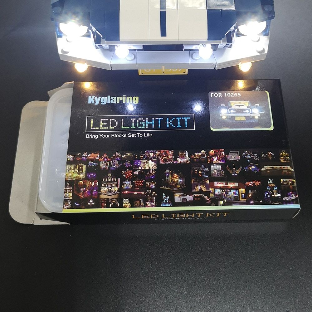 Basic Version Led Light Kit For Lego 10265 Ford Mustang Compatible With 21047 Only Light Set Lepin Land Shop Led Light Kits Led Lights Ford Mustang