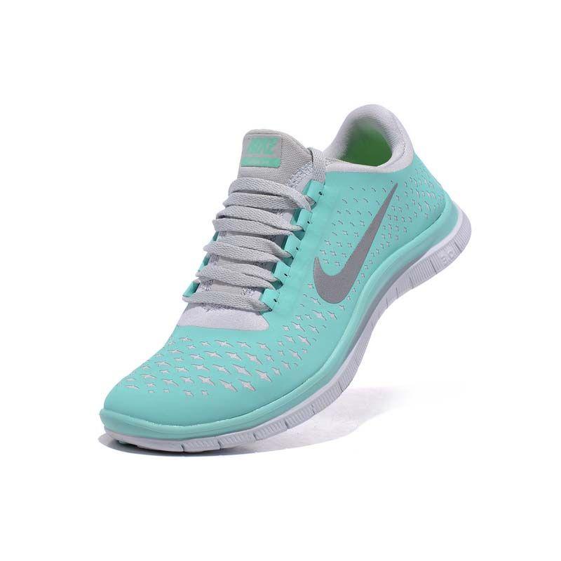 XH1184 Damen Nike Free 3.0 V4 Türkis Grau €63.61 | Nike