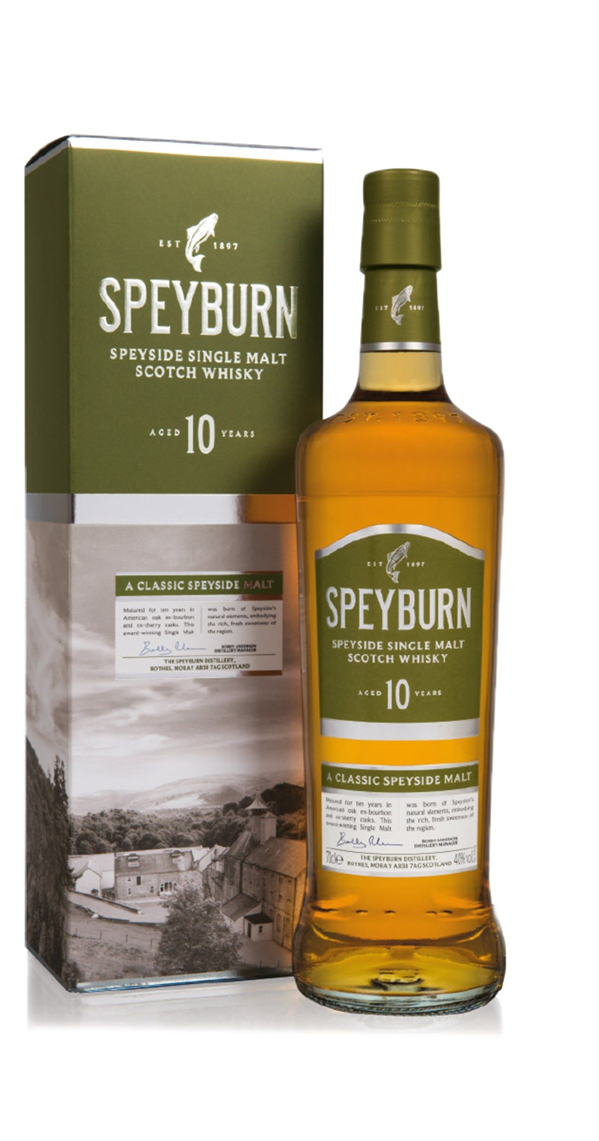 460459074c4 SPEYBURN 10 YEARS OLD SINGLE MALT SCOTCH WHISKY Bold flavours and a long