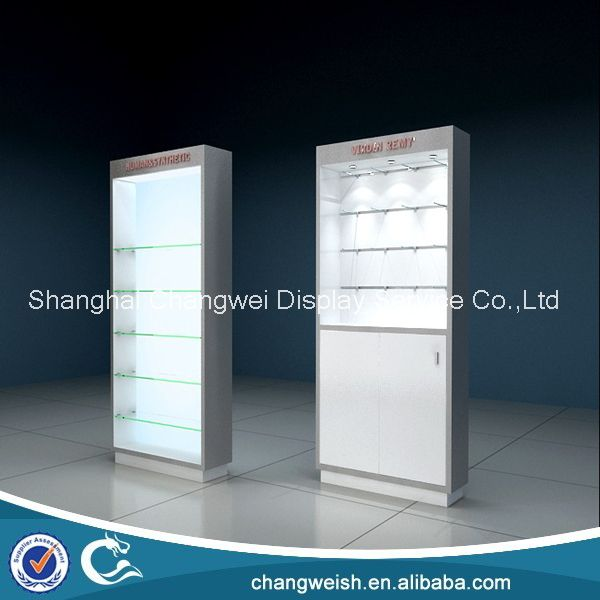 Hair extension products shop display cabinet with glass shelves hair extension products shop display cabinet with glass shelves and metal hookshair shopfitting stand pmusecretfo Images