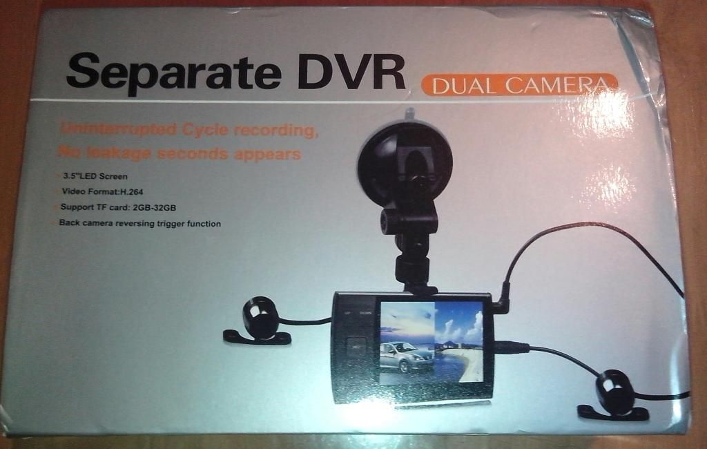 Guide Fitting Dual Camera DVR System to Ford Focus 2005