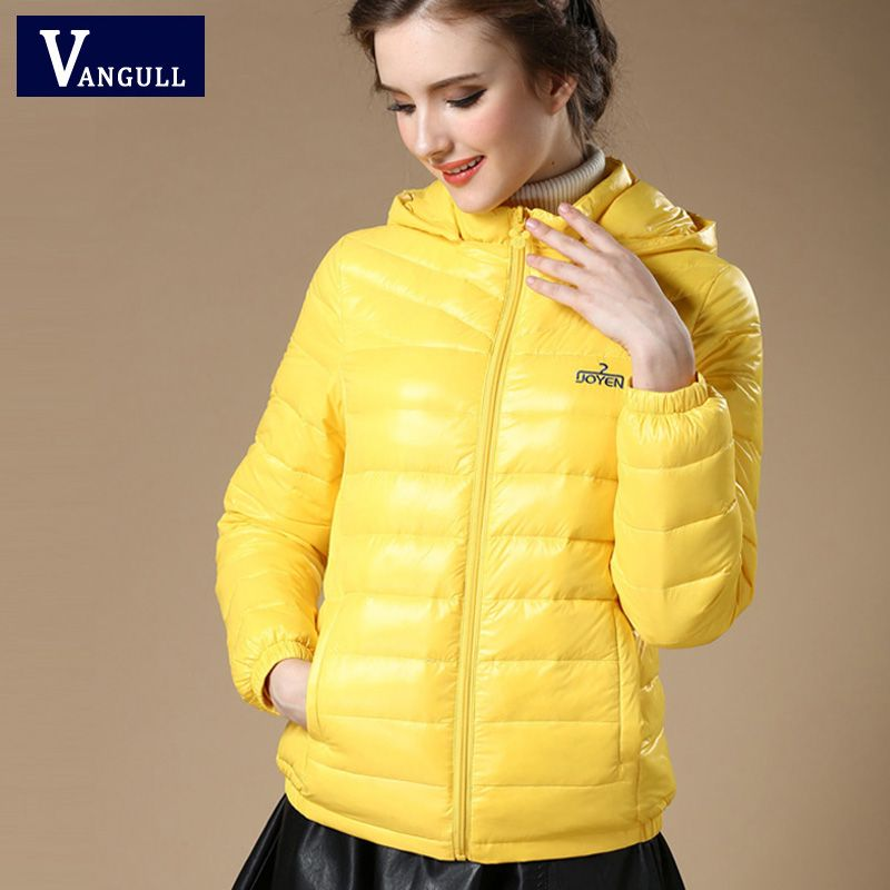 New 2016 Winter Autumn Women 90% White Duck Down Jacket Women's ...