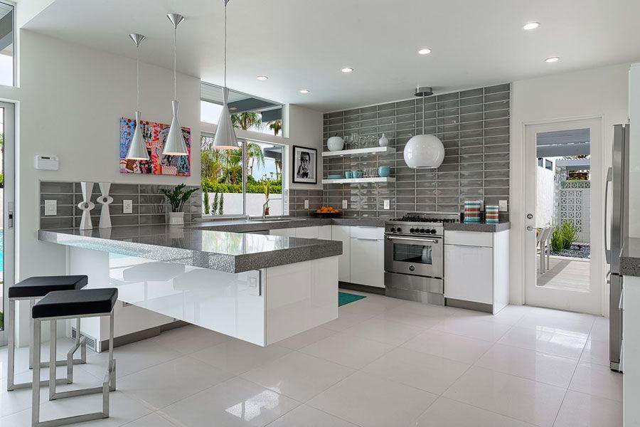 Immagini Di Cucine Moderne Con Isola.50 Foto Di Cucine Moderne Con Penisola Arredo Interni