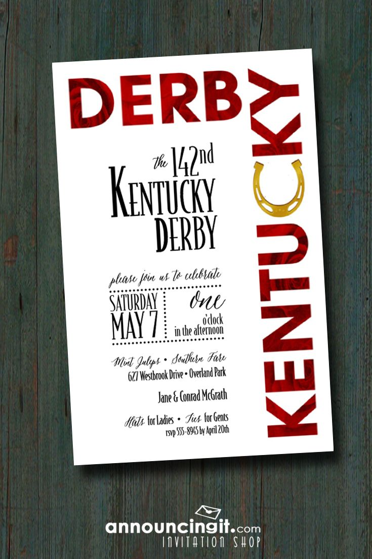 Roses and Horse Shoe | Derby party, Kentucky derby and Horse shoes