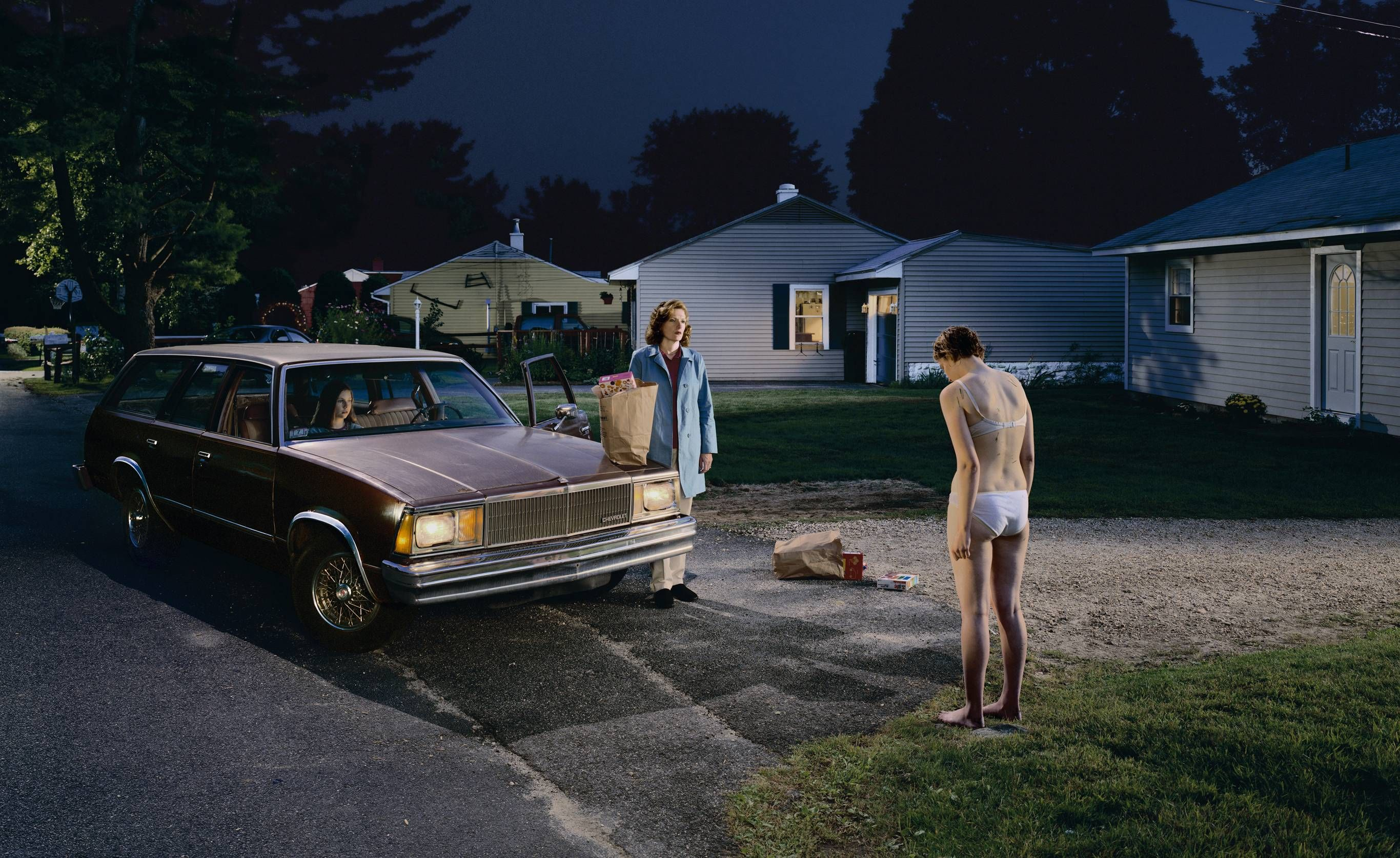 Gregory Crewdson - Untitled (Penitent Daughter), 2001
