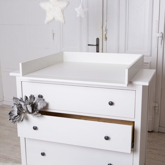Changing Tops Changing Unit For Ikea Hemnes Dresser New White