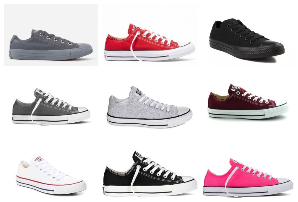 f3bfdae5bc57 New Converse Womens Chuck Taylor All Star Lace Up Canvas Low Top Shoes Size  6-12  Converse  SkateboardingShoes
