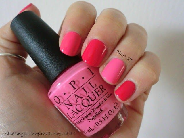 CHIKI88...  my passion for nails!: The nails of the week: Pink, pink, pink!