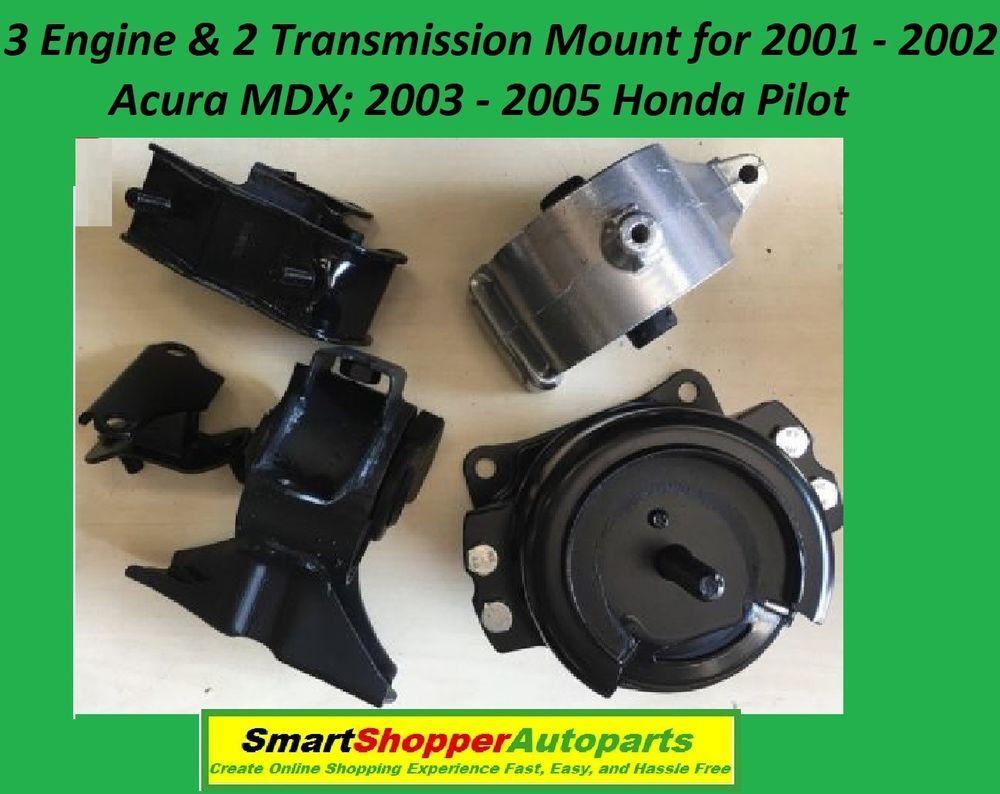 L992 Engine Motor Mount Set 3pc for 2008-2015 Scion XB 2.4L w// AUTO Transmission