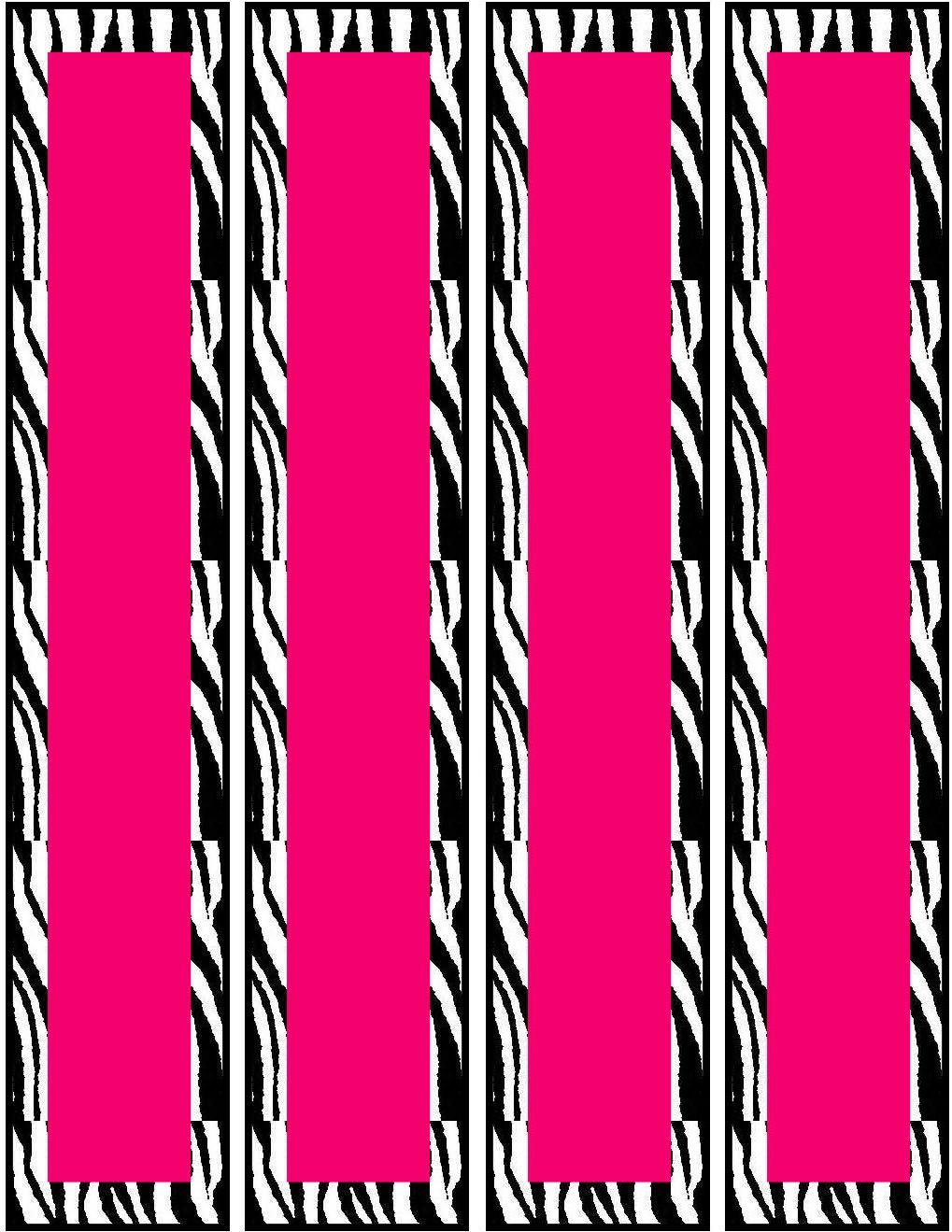 Free Pink Zebra Birthday Party Food Cards Printables Cupcake Toppers Zebra Birthday Party Zebra Party Zebra Birthday