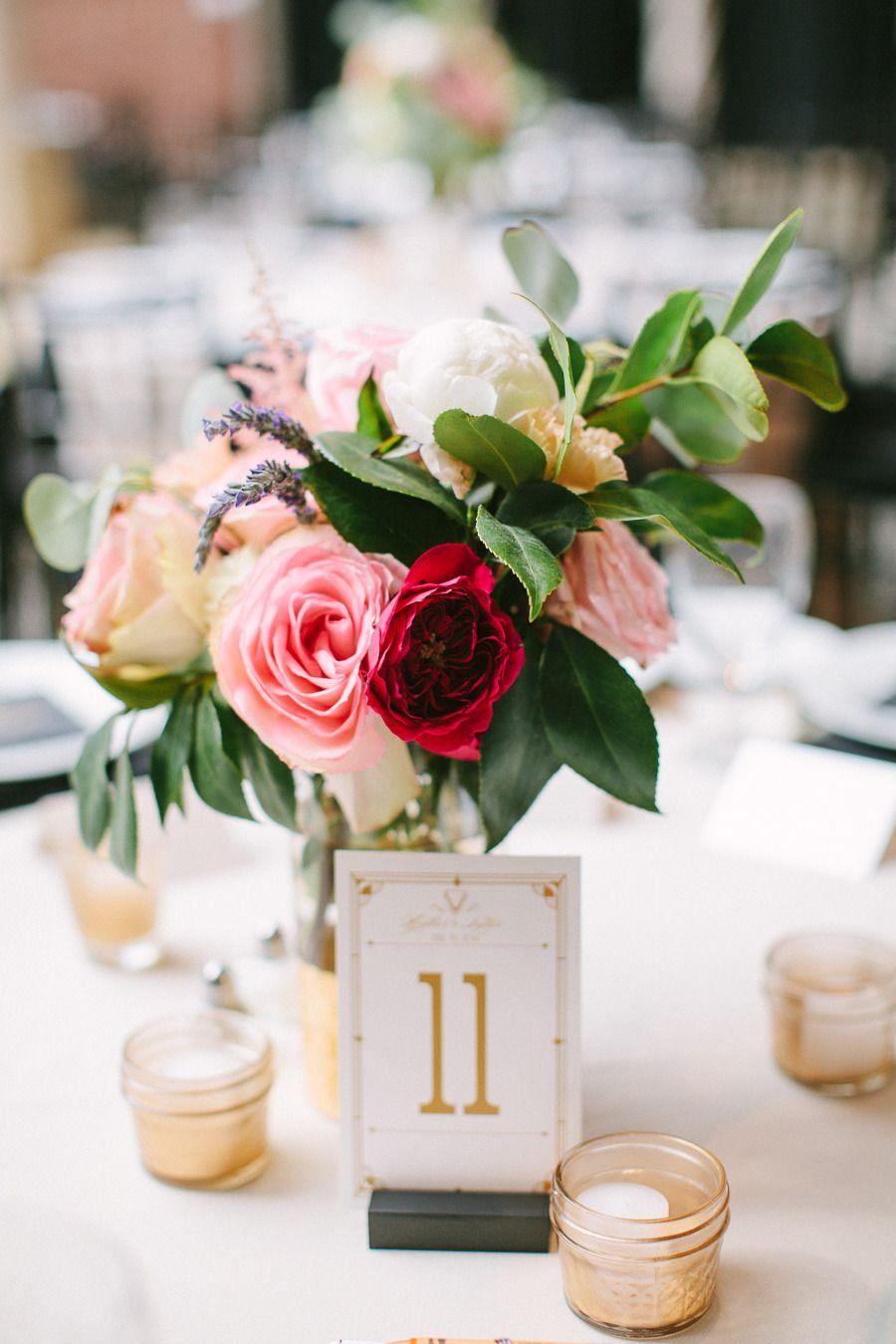Diy elegant wedding decorations  Glamorous DIY Wedding at the Dayton Ohio Art Institute  Glamorous