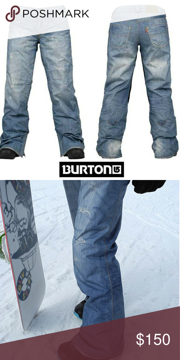 34ddb2abe Burton jean snowboard pants women's These are brand new without tags. These  look just like