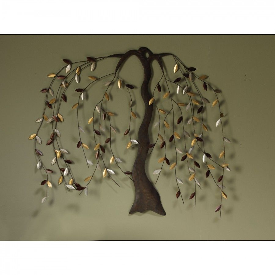 Cape craftsmen willow metal wall art awd for the home