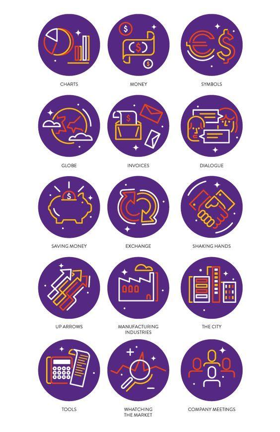Economia: modo de usar on Behance:   워터파크, 아이콘 및 디자인