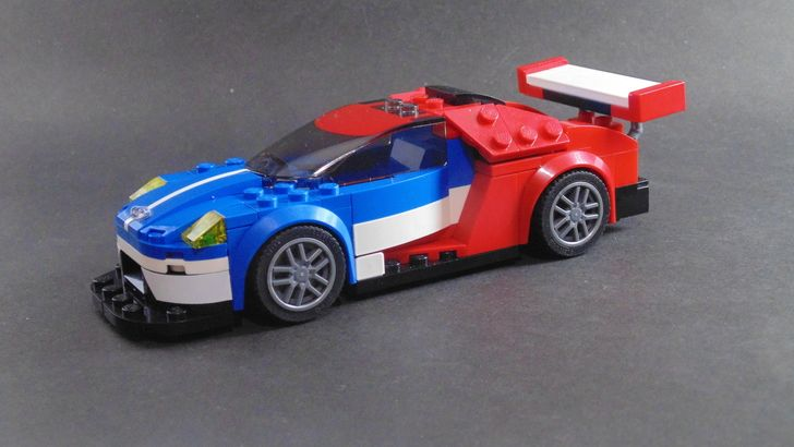 Speed Champions: Ford GT - LMS | Legos, Legos and Lego vehicles