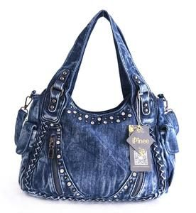 Women s Denim Weave Handbags  6706e1b12
