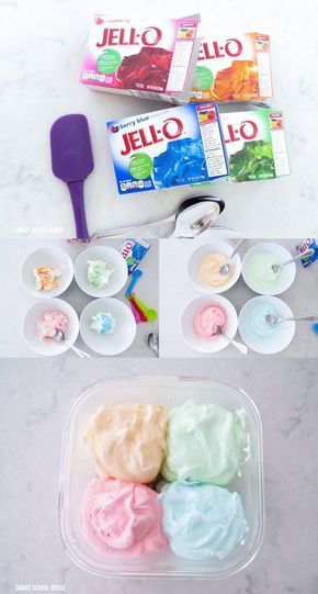 How to make JELLO ICE CREAM No way yes way No ice cream maker No problem Must TRY artesanales caseros caseros de frutas ice cream cream cake cream design cream desserts c...