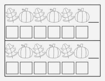 Leaf and Pumpkin Pattern Cards