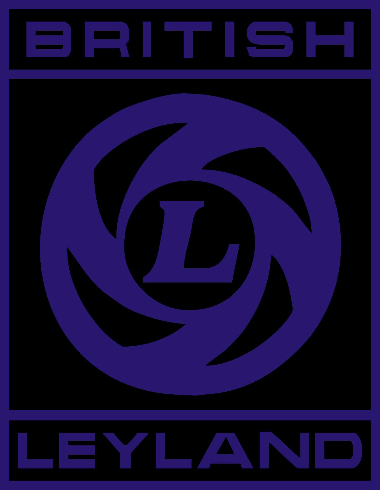 hight resolution of british leyland logo