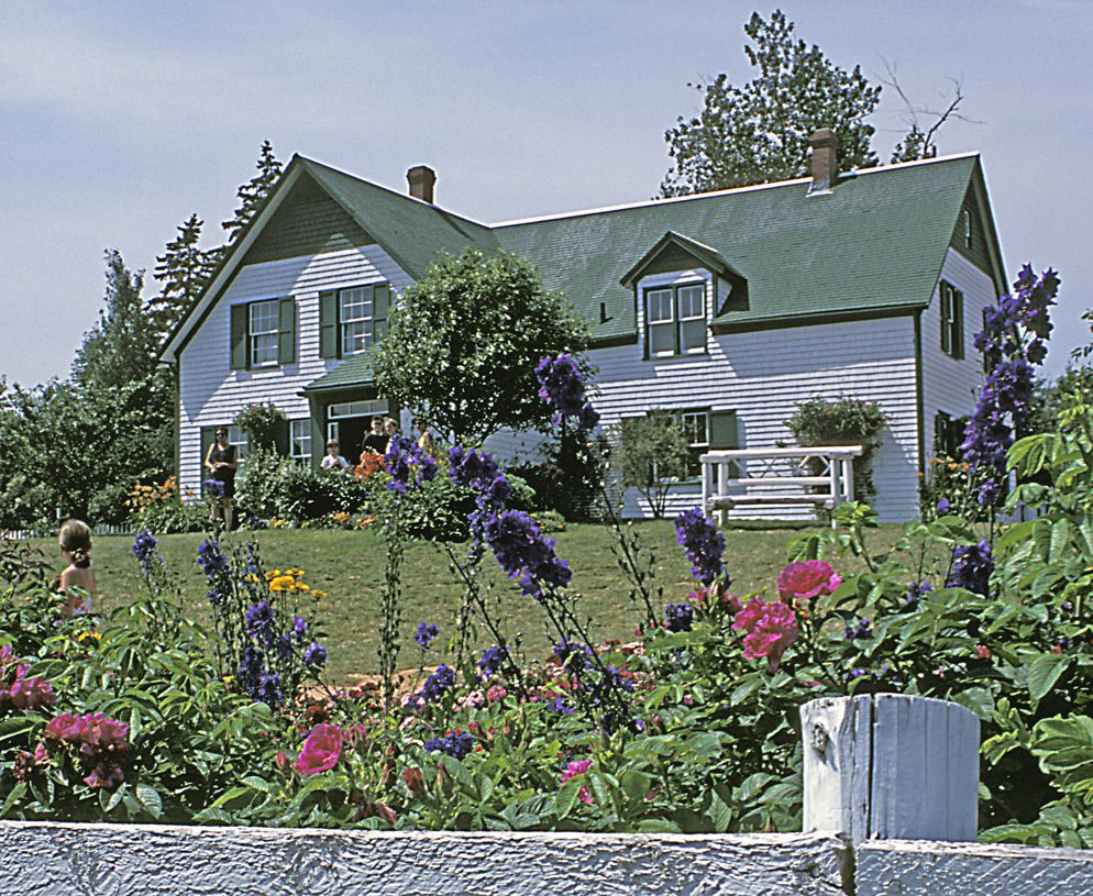 Cavendish Prince Edward Island House Of Green Gables Author
