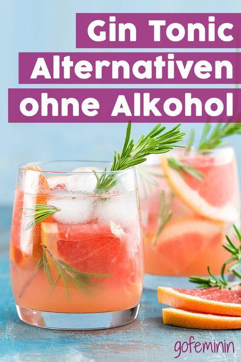 GENIAL! Diese alkoholfreien Cocktails sind perfekt für Gin Tonic Fans!