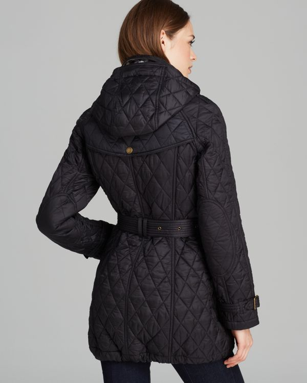 Burberry Finsbridge Long Quilted Coat Women Bloomingdale S Long Quilted Coat Quilted Coat Women Quilted Coat