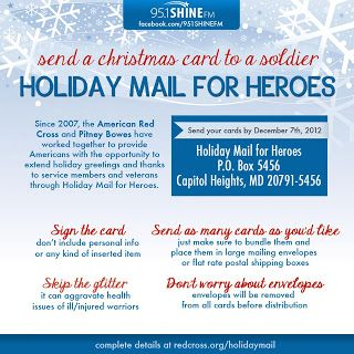 How to send Christmas cards to the troops! | Send ...