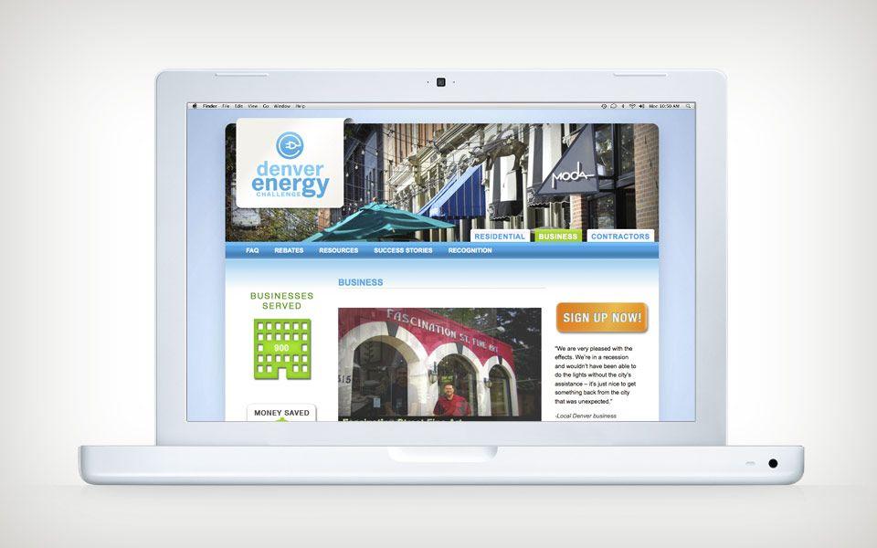 Denver Energy Challenge Website Design Drupal Web Site Sustainability Design Denver Colorado Graphic Design Energy Challenge Challenges Website Design