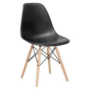 Mid-Century Walnut Slope Chair