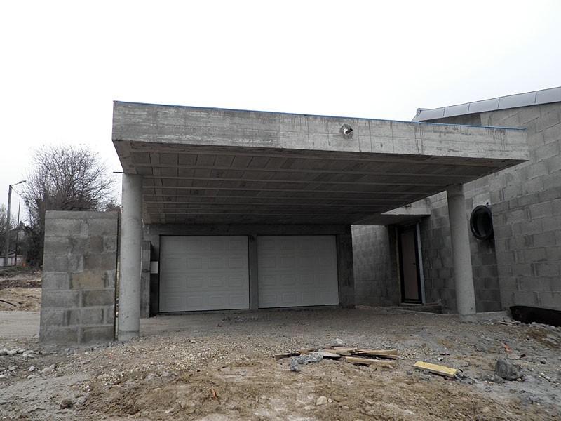 Construction Toit Terrasse Beton