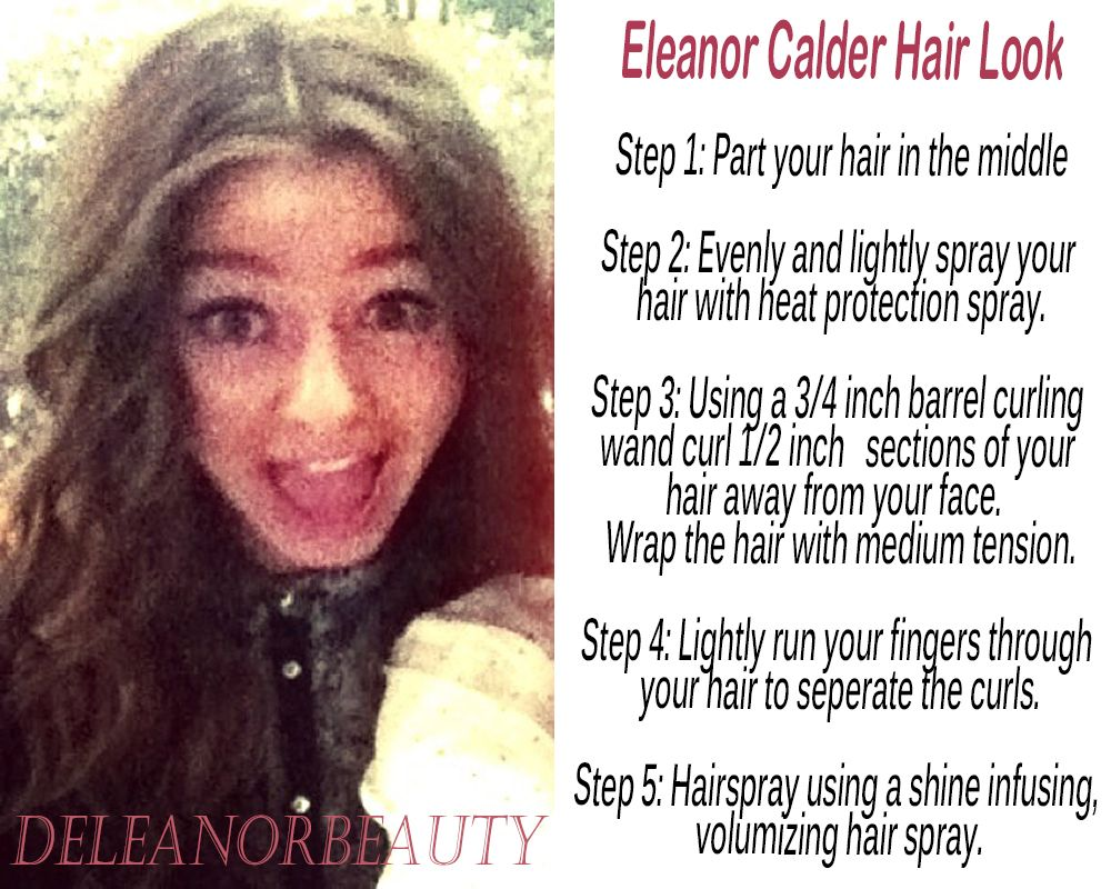 want eleanor's hairstyle? here are the steps