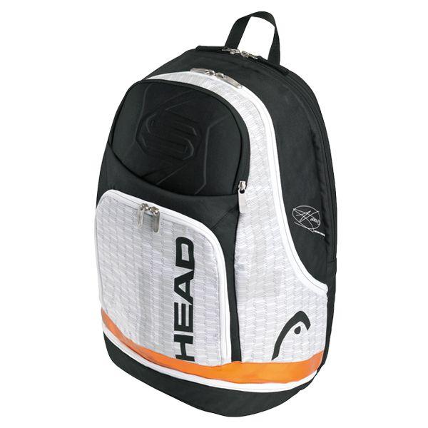 Djokovic Tennis Backpack White Gray Tennis Bags Tennis Backpack Tennis Bag