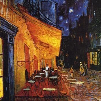 Van Gogh Terrazza Del Caffè La Sera Così Il Pennello Sta