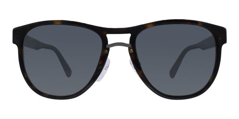2a297eb1972d Prada PR09US Tortoise   Gray Lens Sunglasses