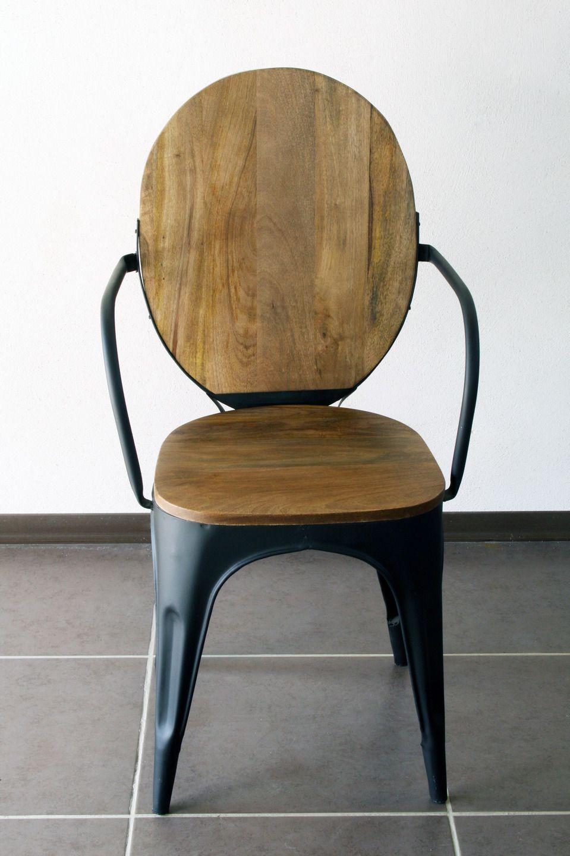 Et 150 Vintage Métal BoisMeubles Industrielle Chaise eWxodCrB