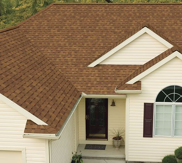 Oakridge Shingles Featuring Artisan Colors Desert Tan Exterior Paint Colors For House House Paint Exterior Brown Roof Houses
