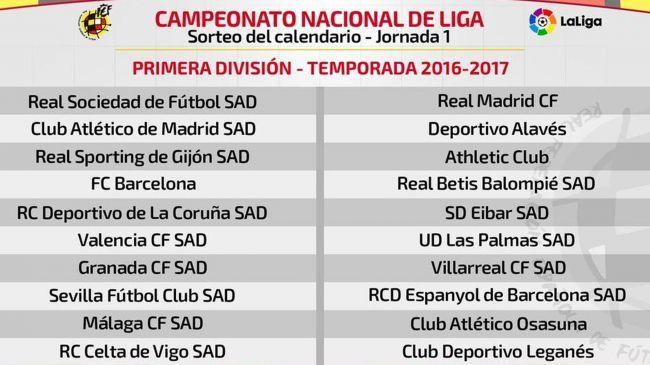 Liga 2016-2017 : Noticias en directo, fotos y vídeo - Fútbol - Eurosport