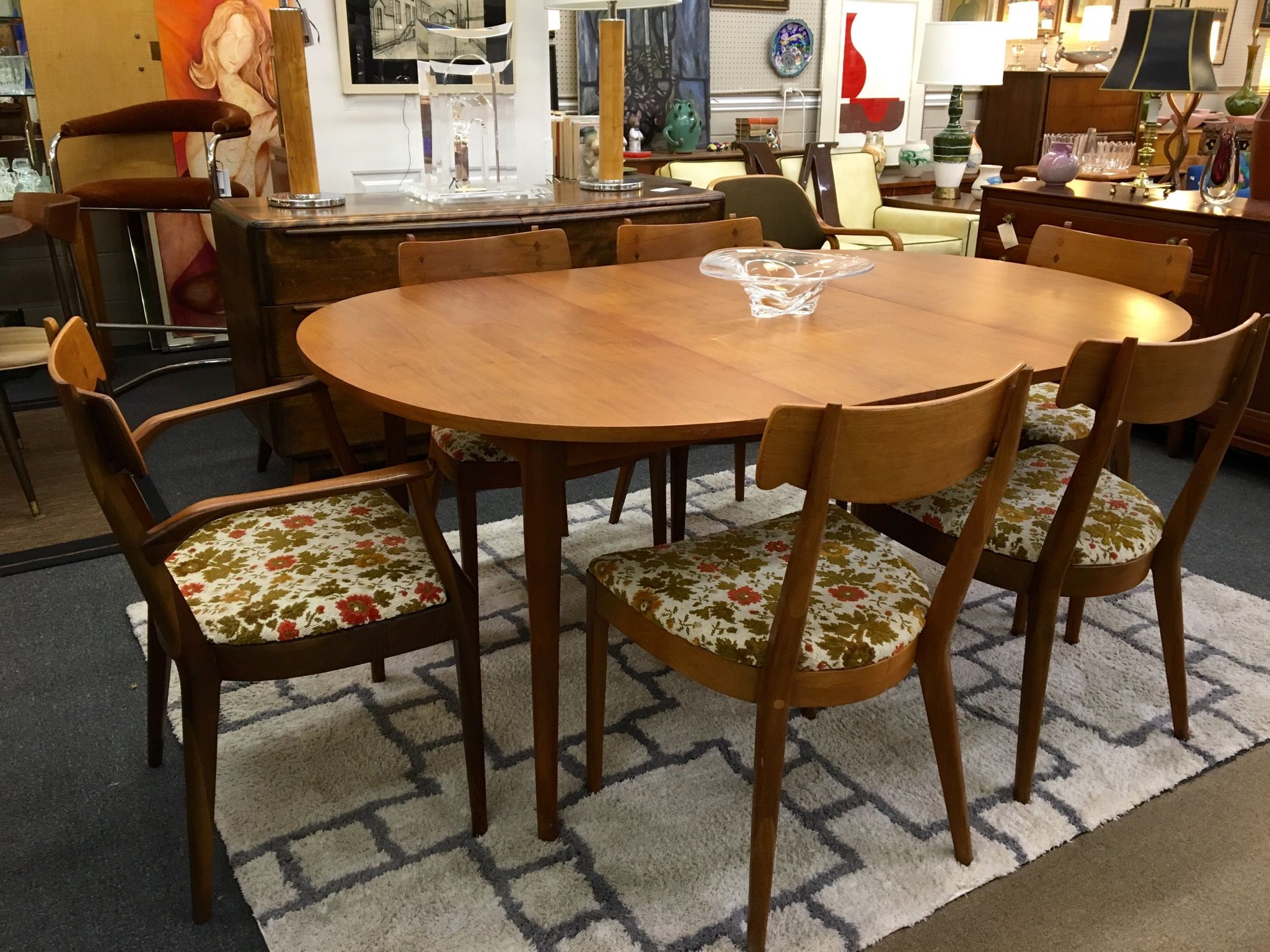 1958 Drexel Declaration Dining Set By Kipp Stewart Kitchen