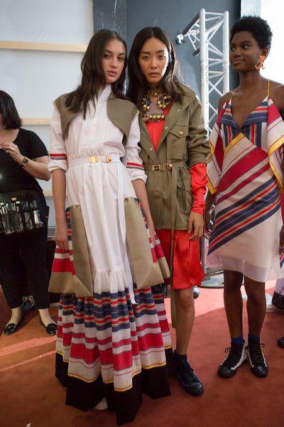 Alexis Mabille at Paris Fashion Week Spring 2017 - Backstage Runway Photos