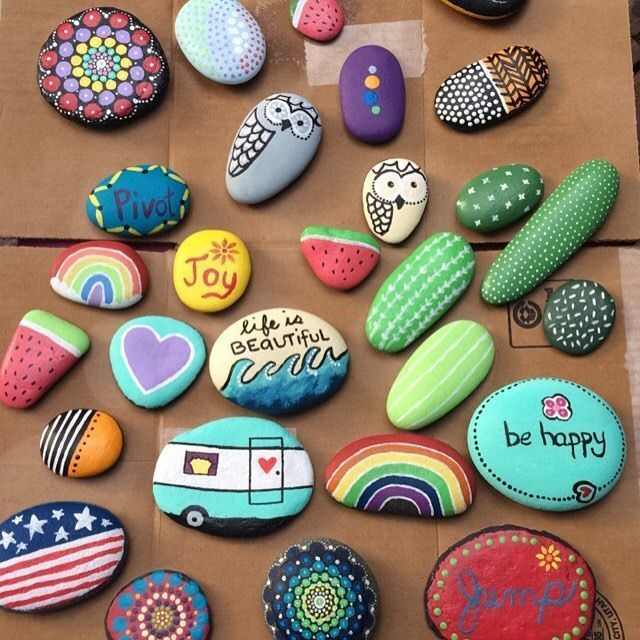 Painted Rock Crafts Crochetingneedles Com Rock Crafts Painted Rocks Craft Crafts