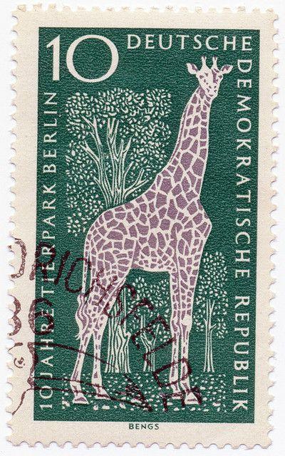 1965 German Stamp
