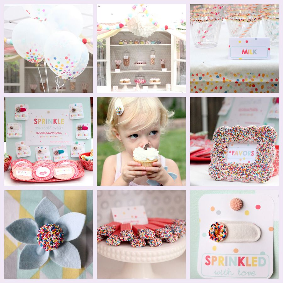 """""""sprinkled with love"""" party, kojodesigns #parties"""